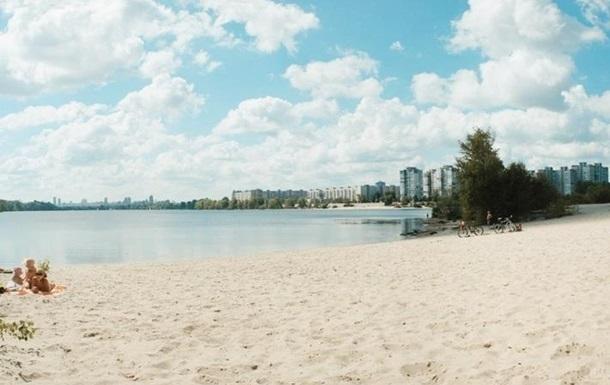 На жодному з пляжів Києва не рекомендують купатися