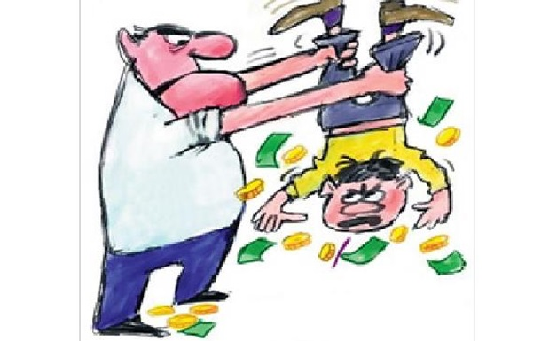 Податки знищують тих, хто їх платить!
