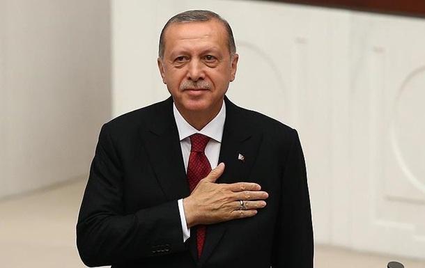 Ердоган вступив на посаду президента Туреччини