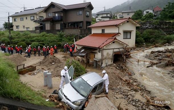 Повінь у Японії: кількість жертв зросла до 120