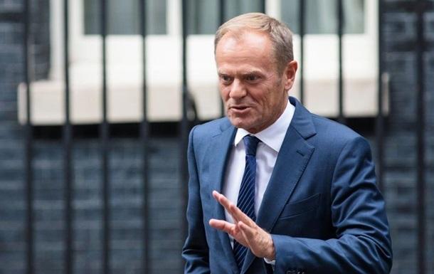 Туск надеется на отказ Лондона от Brexit