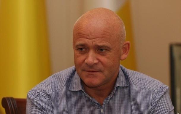 Мэр Одессы Труханов подал на Украину иск в ЕСПЧ