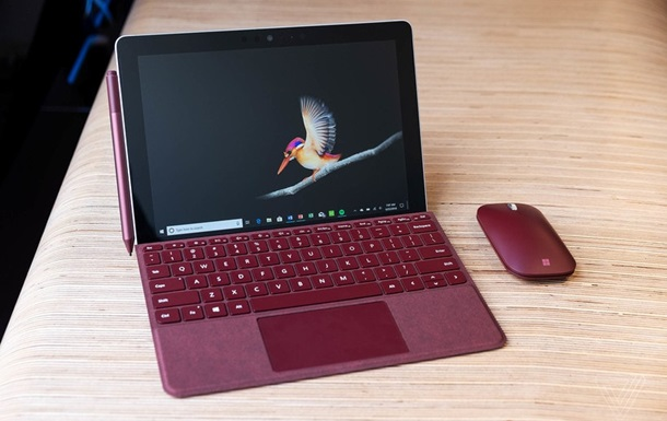 Microsoft показала компактний планшет Surface Go