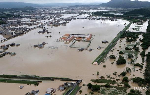 Повінь у Японії: кількість жертв збільшилася до 156