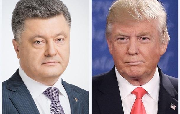 Порошенко побажав Трампу  повернути Путіна в лад