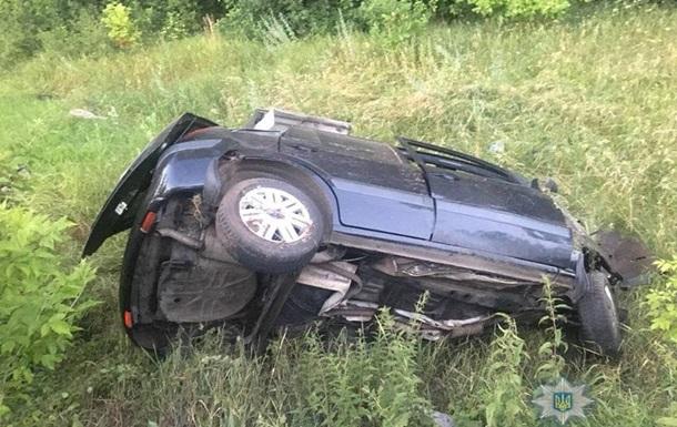 В Киевской области в ДТП пострадали шесть человек