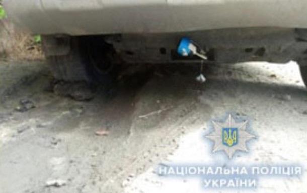 В Одесі під автомобілем виявили гранату