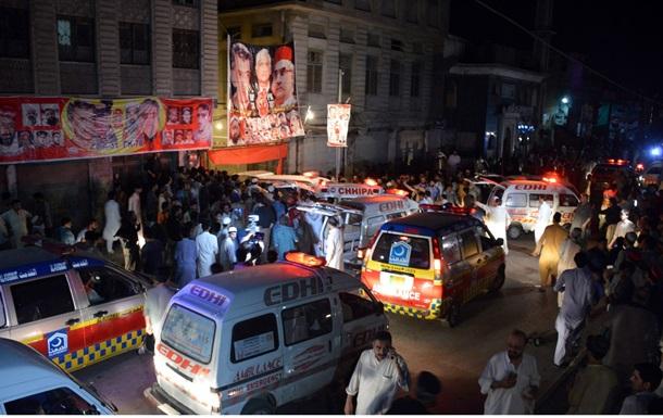У Пакистані терорист-смертник здійснив атаку