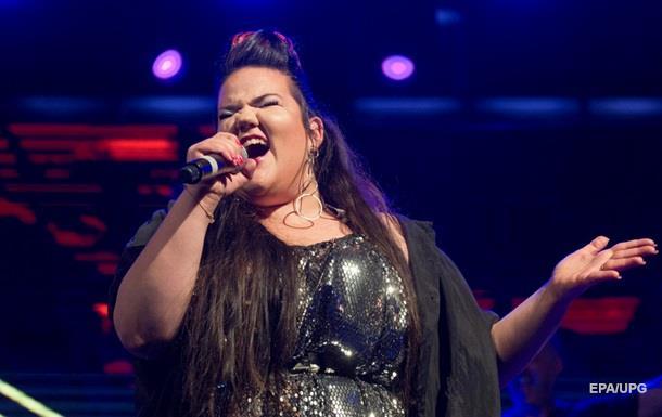 Победительница Евровидения снимает в Киеве новый клип