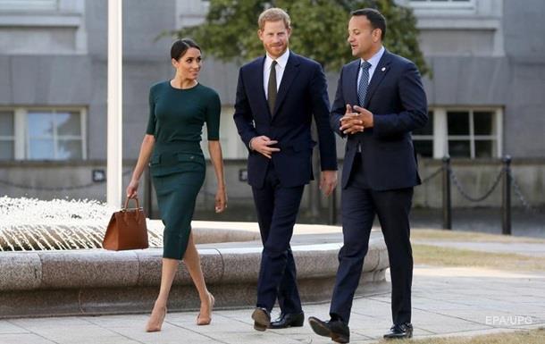 Принц Гарри с женой прибыли с визитом в Ирландию