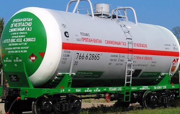 Транзит сжиженного газа через Украину упал почти на 35%