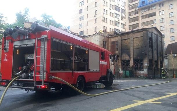 В центре Киева горело здание детсада