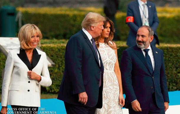 Пашинян зустрівся з Трампом і Мей