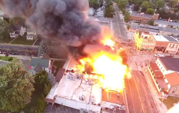 В США при взрыве газа погиб пожарный