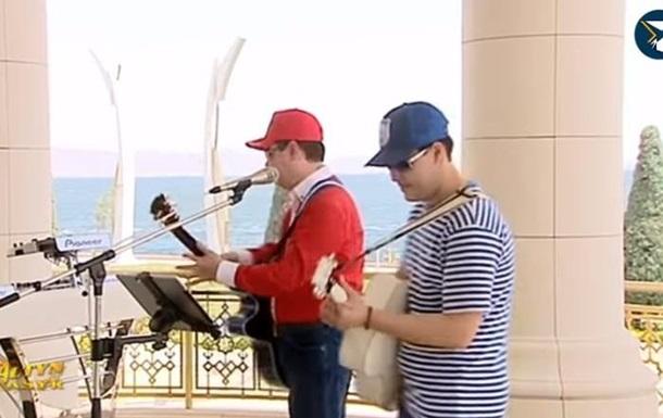 Президент Туркменістану записав з онуком реп