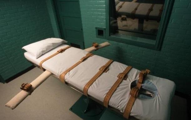 В США отложили казнь из-за иска производителя препарата для инъекций