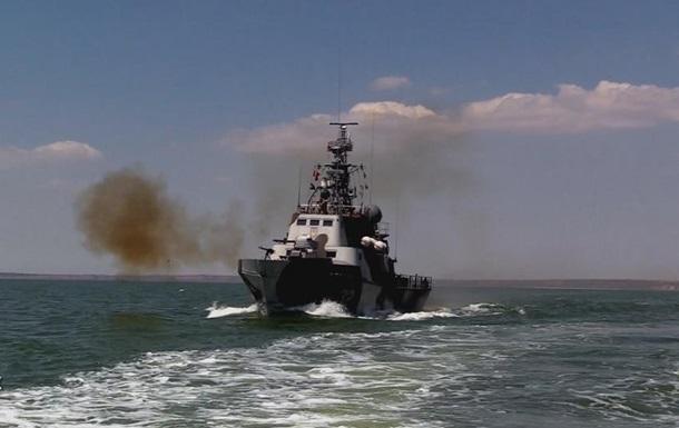 Сили ООС провели навчання в Азовському морі