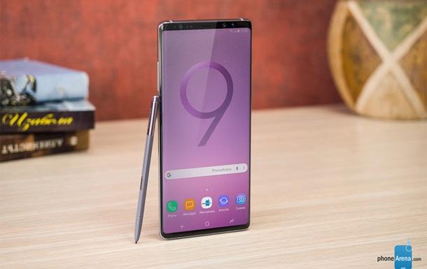 З явився офіційний знімок Samsung Galaxy Note9