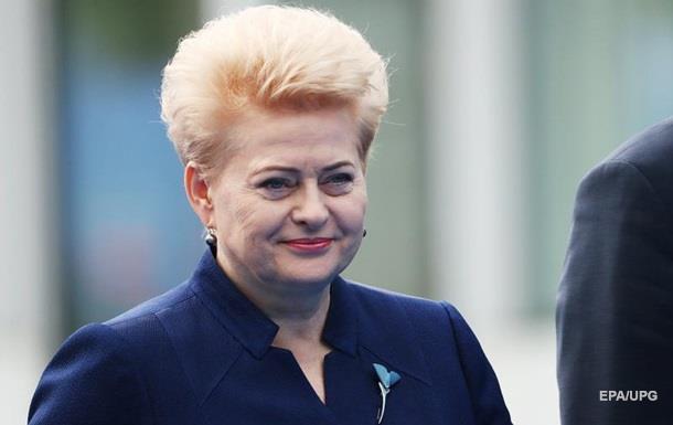 Позитивна агресія  Трампа на саміті НАТО спрацювала - Грибаускайте