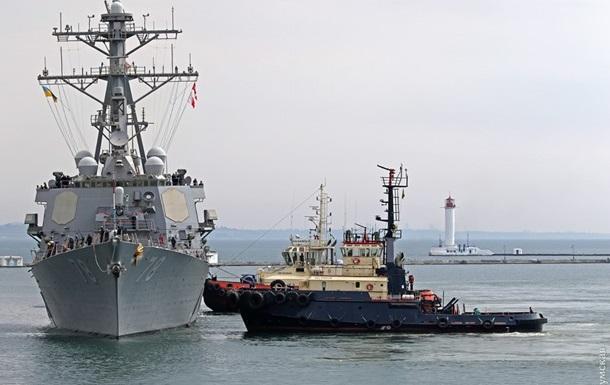 Росія назвала навчання України і США в Чорному морі  грою з вогнем