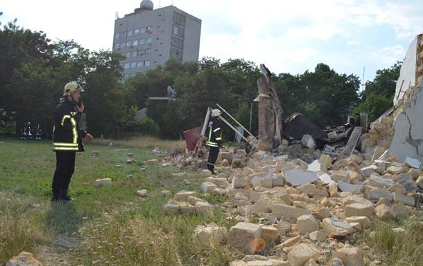В Одесі вибухом знищено будівлю