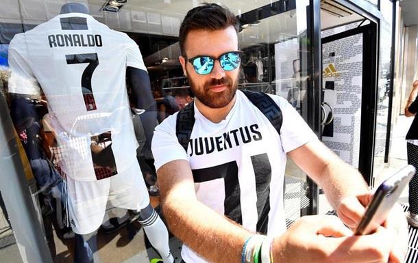 Ювентус почав заробляти на футболках Роналду