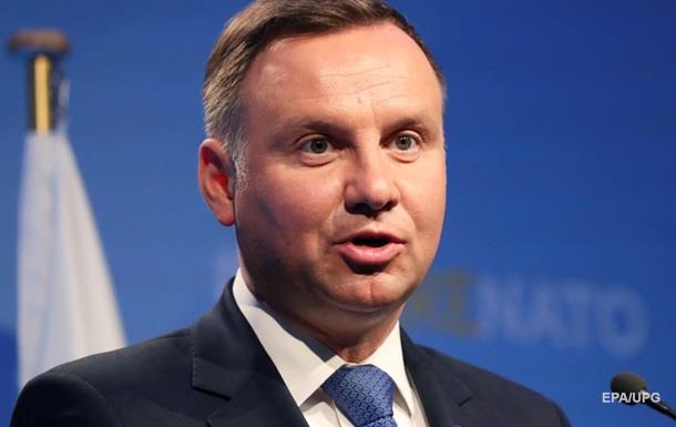 Дуда ждет от Украины дегероизации УПА