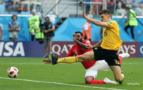 ЧМ-2018: Бельгия – Англия 2:0. Онлайн