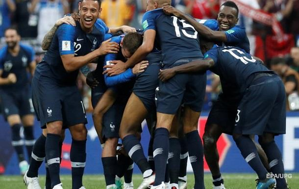 Финал ЧМ-2018: Франция - Хорватия 4:2. Онлайн
