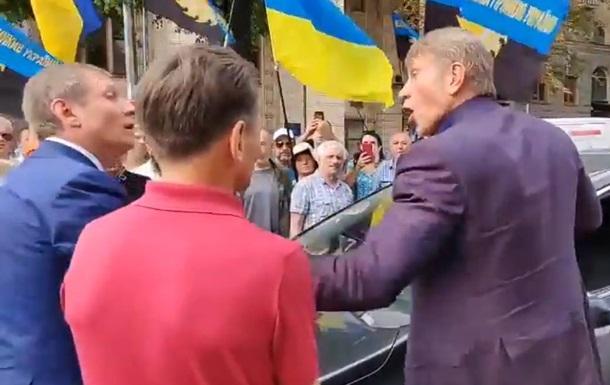 В Киеве нардеп подрался с министром энергетики