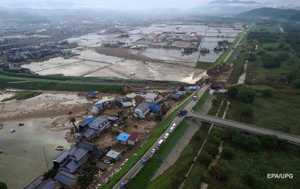 Повені в Японії: кількість жертв перевищила 200 осіб