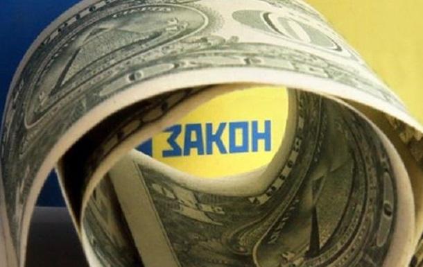 Градус корумпованості Закону «про Валюту»