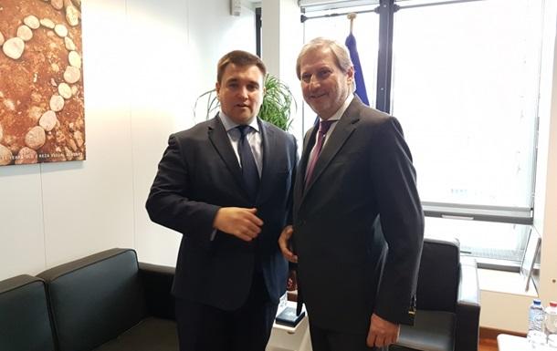 Климкин и Хан обсудили евроинтеграцию Украины