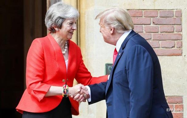 Трамп і Мей заявили про торгову угоду після Brexit
