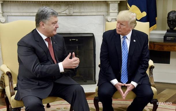 Порошенко просив Трампа про українських в язнів