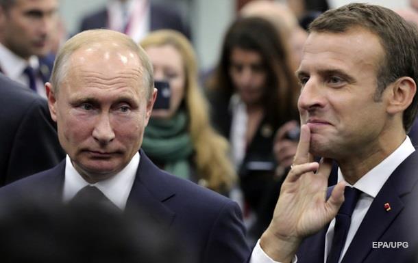 Макрон на футболе поговорит с Путиным об Украине