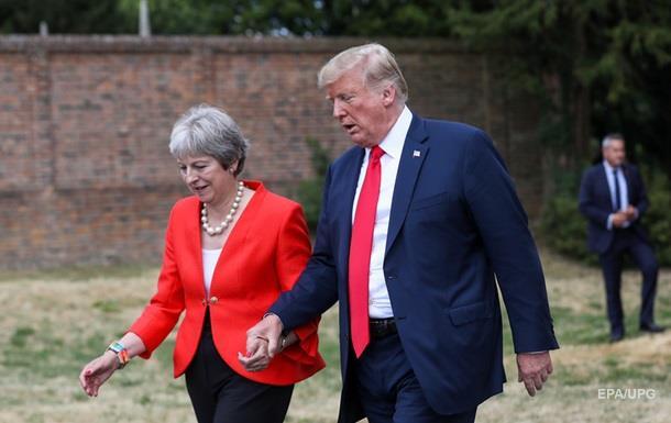 Трамп порадив Мей подати в суд на ЄС
