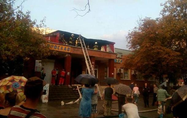 В Киеве горел хостел: шесть пострадавших