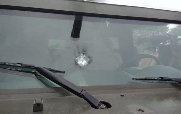 Прикордонників обстріляли біля КПП Майорськ