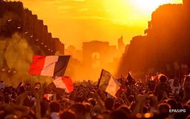 У Франції двоє фанатів загинули під час святкування перемоги на ЧС-2018