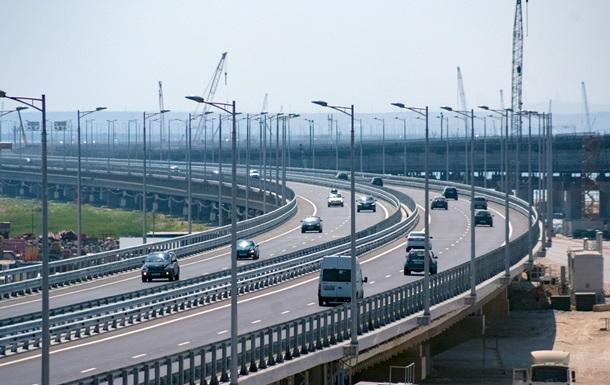 У РФ нарахували більше мільйона авто на мосту в Крим
