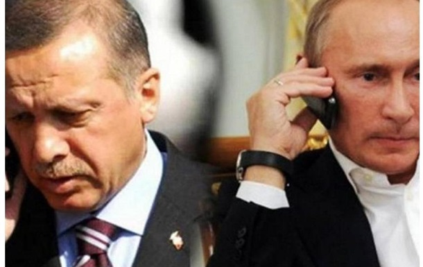 Путін – Ердоган – ворогодрузі