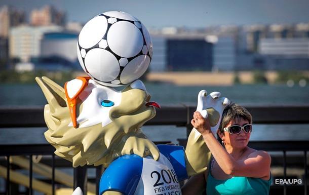 У Петербурзі вкрали фігуру талісмана Чемпіонату світу