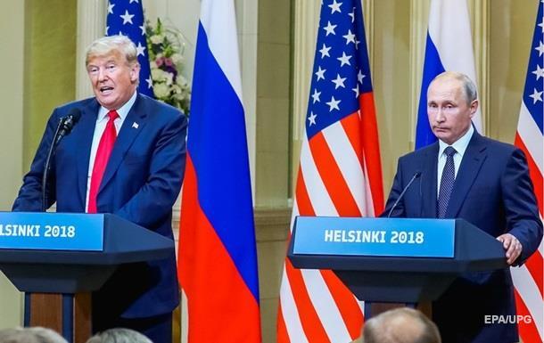 Трамп не упомянул Украину после встречи с Путиным