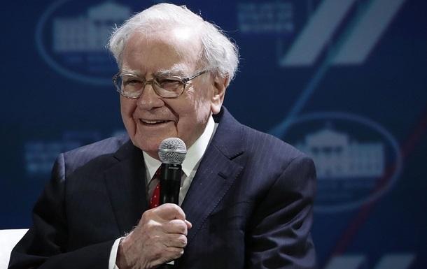 Баффет пожертвував на благодійність $3,4 млрд