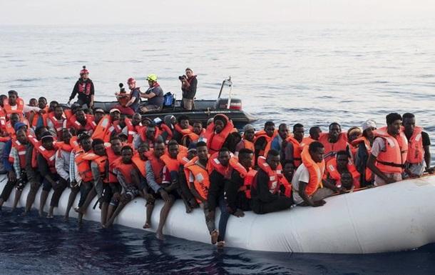 Найбільше мігрантів потрапили у 2017 до ЄС Середземним морем через Іспанію