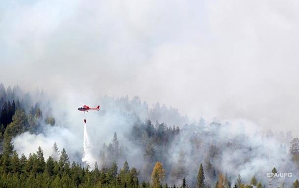 Швеція просить ЄС допомоги в гасінні лісових пожеж