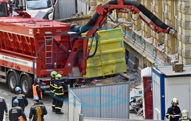 Під час обвалення будинку в Празі постраждали троє українців - ЗМІ