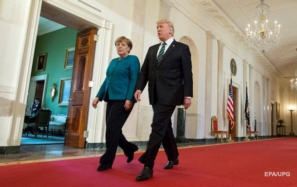 Трамп заявив, що Меркель перестала бути суперзіркою