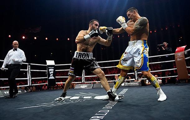 Смотреть бокс Александр Усик - Мурат Гассиев онлайн 21 июля